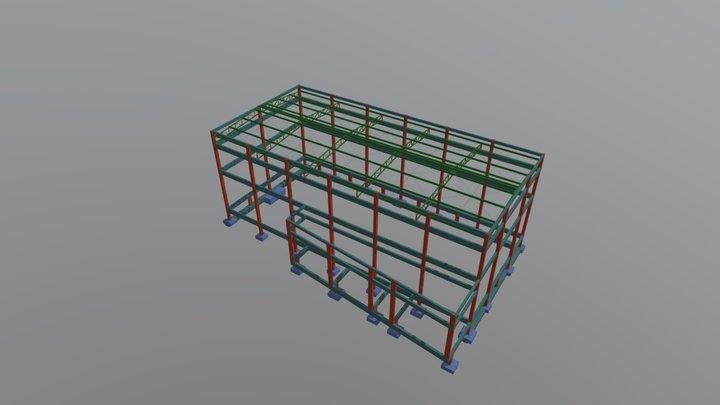 Estrutura Igreja El- Shaday 3D Model