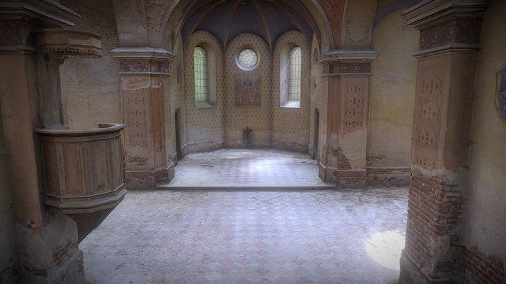 Greek Catholic Church - Interior 3D Model