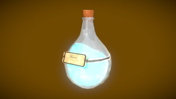 My_Potion_Bottle 3D Model