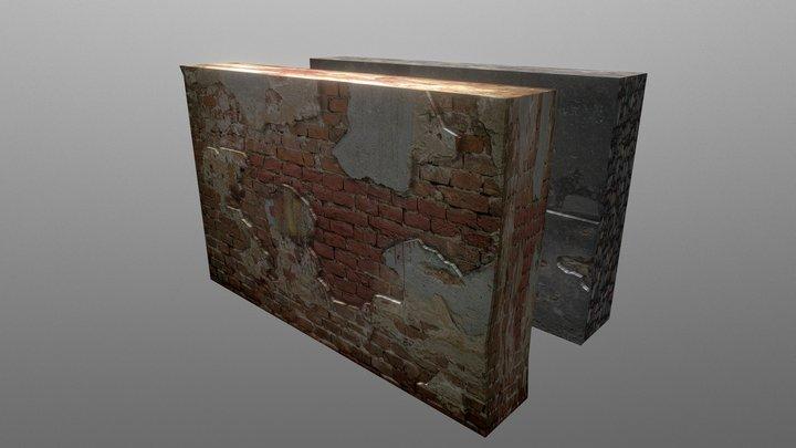 Wall 02 3D Model