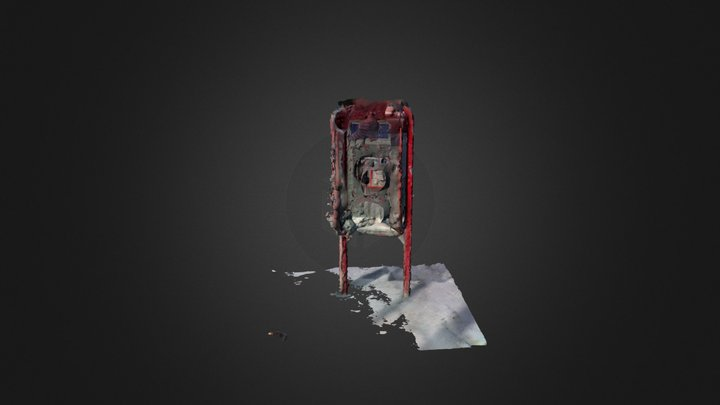 Phonebooth 3D Model