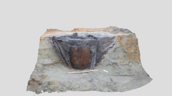 KURKU01 Romeinse waterput 3D Model