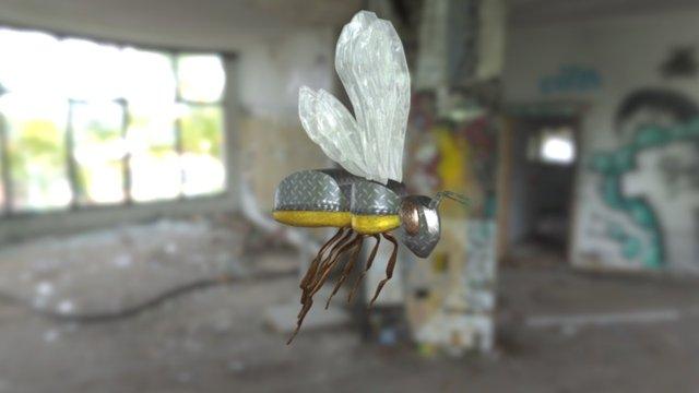 Metal Bee 3D Model