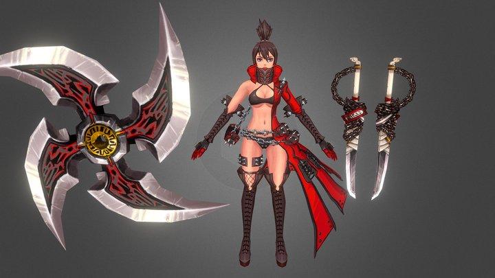 Kritika Assassin Tpose 3D Model