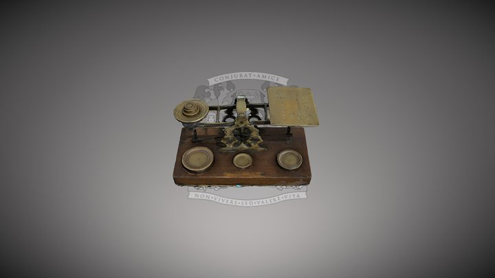Postage Scales 3D Model