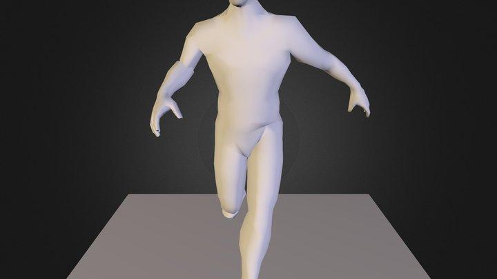 Jogador 3D Model