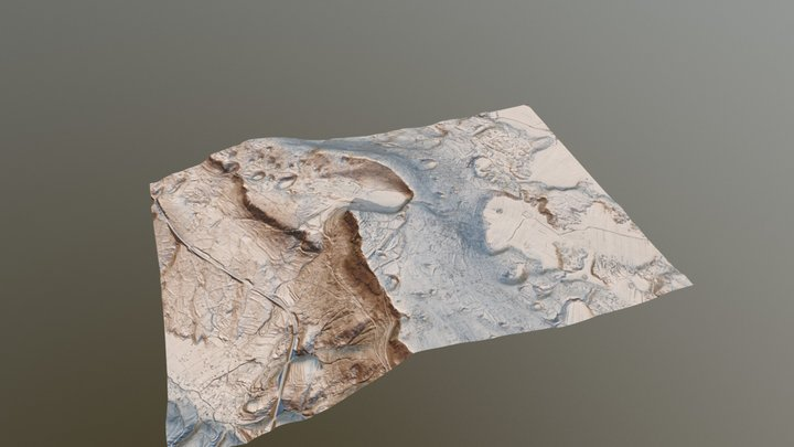 Silentabor - prehistoric hillfort and castle 3D Model
