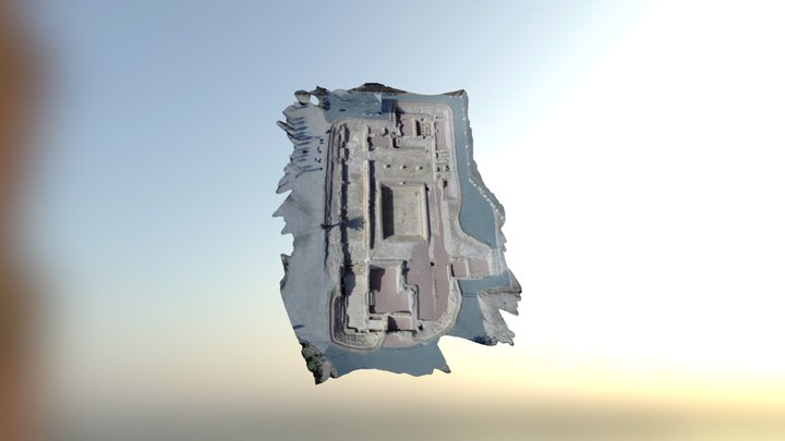 Termas La Alcudia de Elche 3D Model