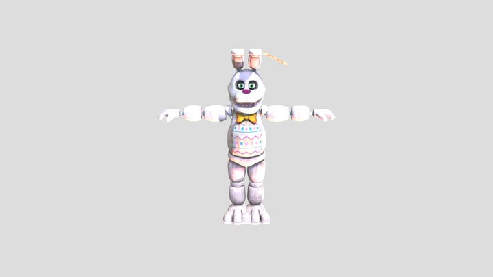 Easter Bonnie Special Delivery 3D Model