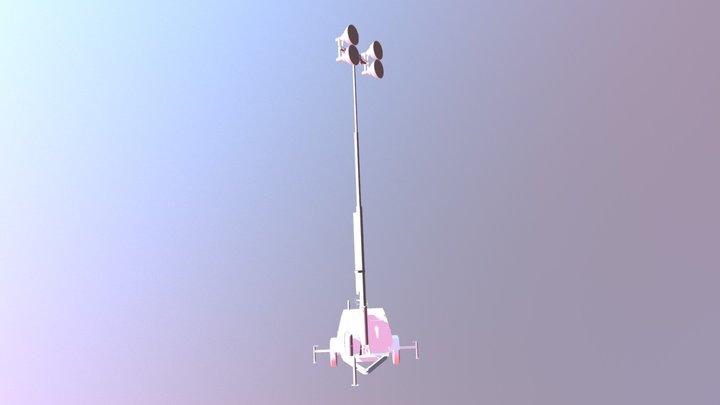 Light Tower 3D Model