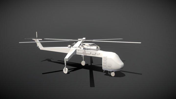 Skycrane 3D Model