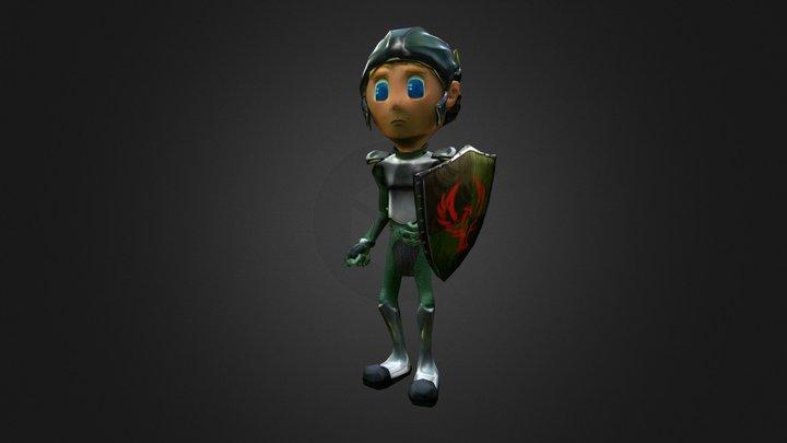 CZABOR main character 3D Model