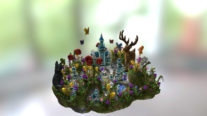 Eluxe Summer Spawn 3D Model