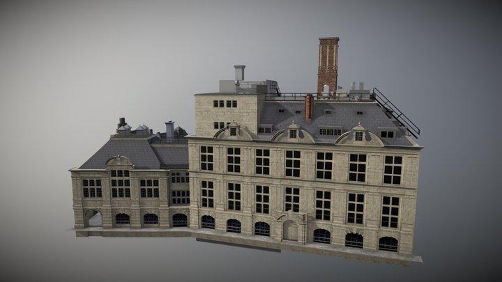 Cambridge Old Metallurgy 3D Model