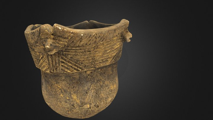 Susquehannock Pot by Dr. Barry C. Kent 3D Model