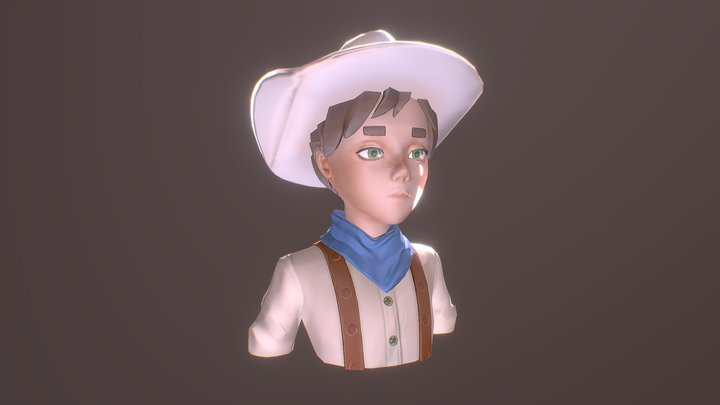 Hired Gun 12 3D Model