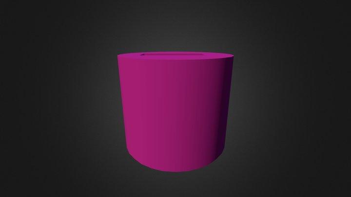 Cubo Con Agujero 3D Model