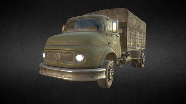 Mercedes Truck 3D Model