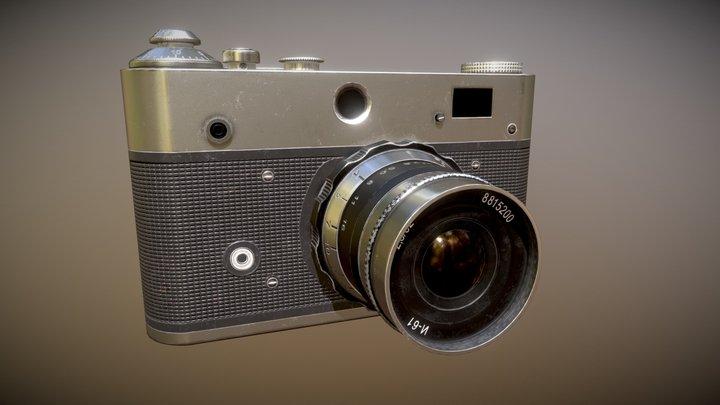 Vintage Camera (without Logo) 3D Model