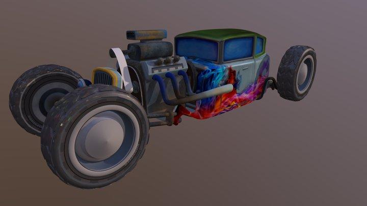 CAR MONSTER 3D Model