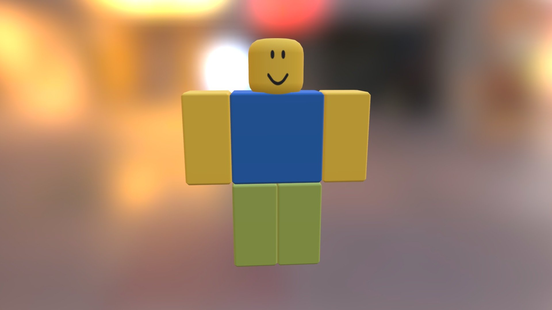 Roblox Noob Download Free 3d Model By Vanyabro85 - how to make a roblox animation blender