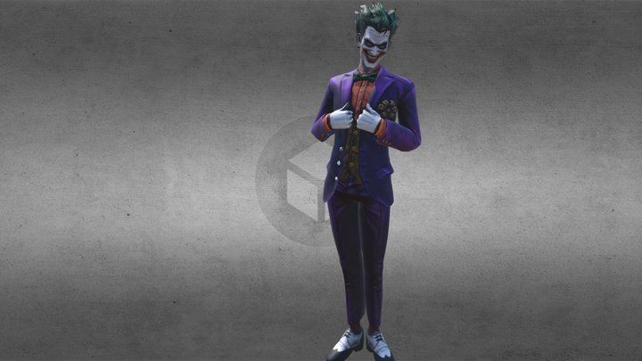 The Joker 3D Model