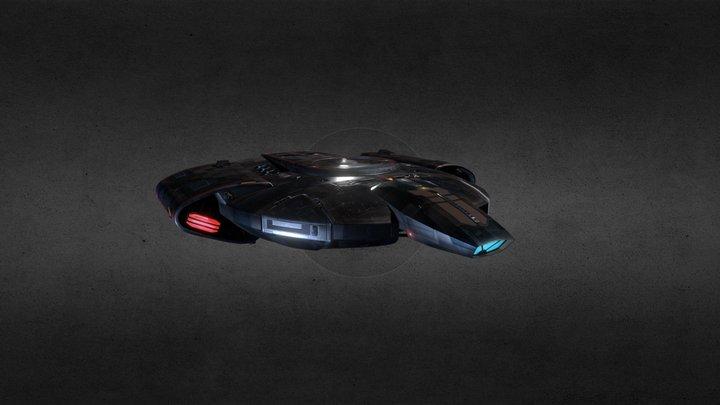 U.S.S. Defiant 3D Model