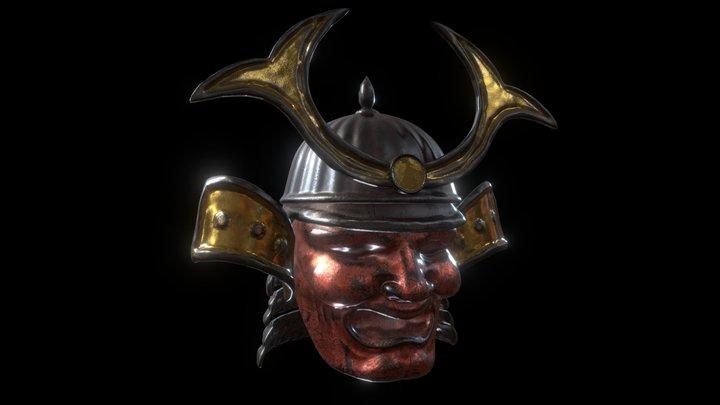 Samurai helmet Free download 3D Model