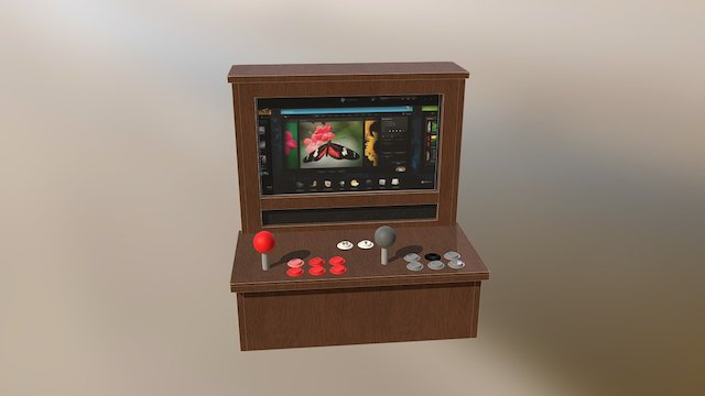 HP Touchsmart Wall Arcade 3D Model