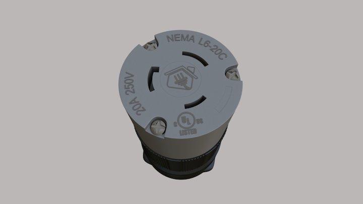 CASA DAS TOMADAS L6-20C 3D Model