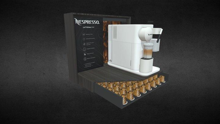 Glorificador Nespresso 3D Model