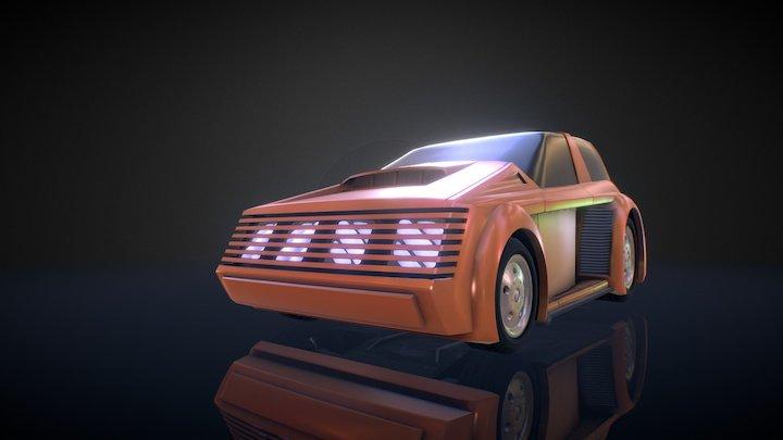 Riff Racer- Comet game model 3D Model