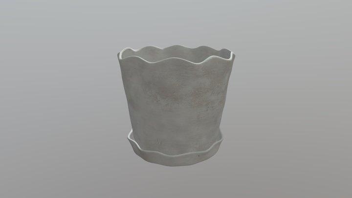Small Planter 3D Model