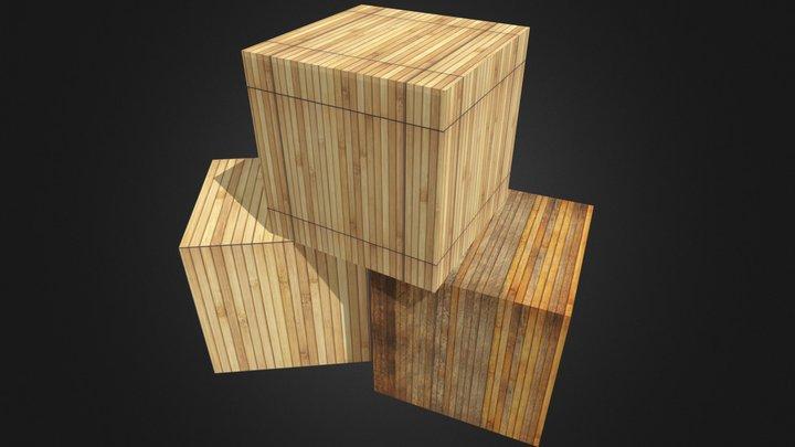 Modelo de Caixas. 3D Model
