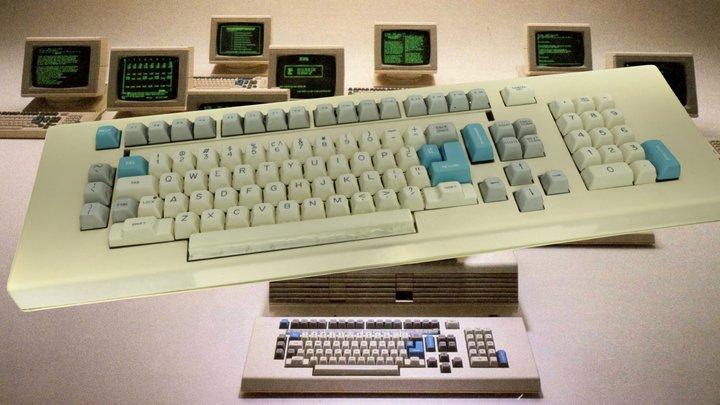 Fortune Systems 32:16 Keyboard (Metashape) 3D Model
