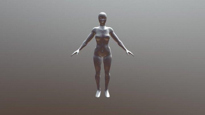 Female - In Progress 3D Model