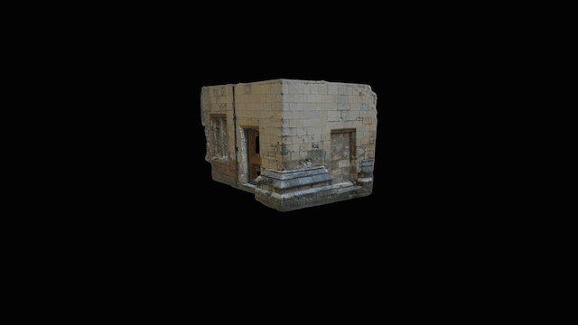 King's Manor Wall 3D Model