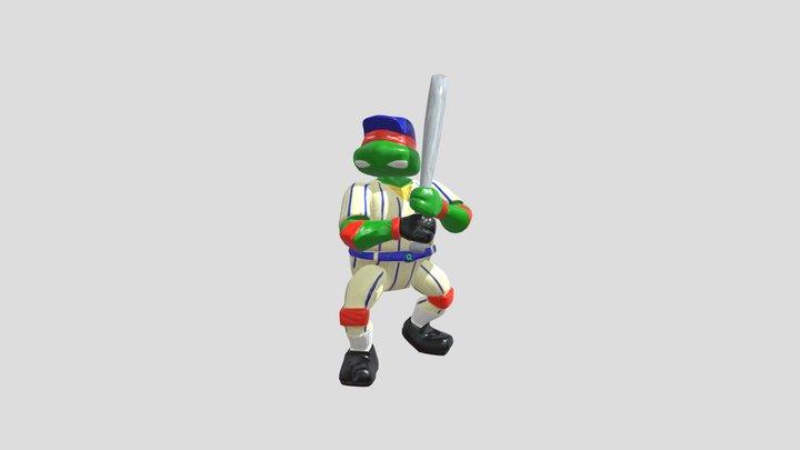 Grand Slammin Raph 3D Model