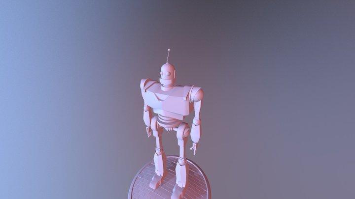 Iron Gaint 3D Model