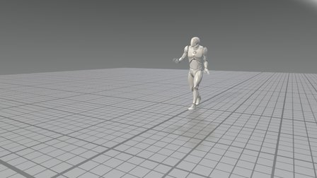 [UE4] LIFE Walking: MoCap Animation Pack 3D Model
