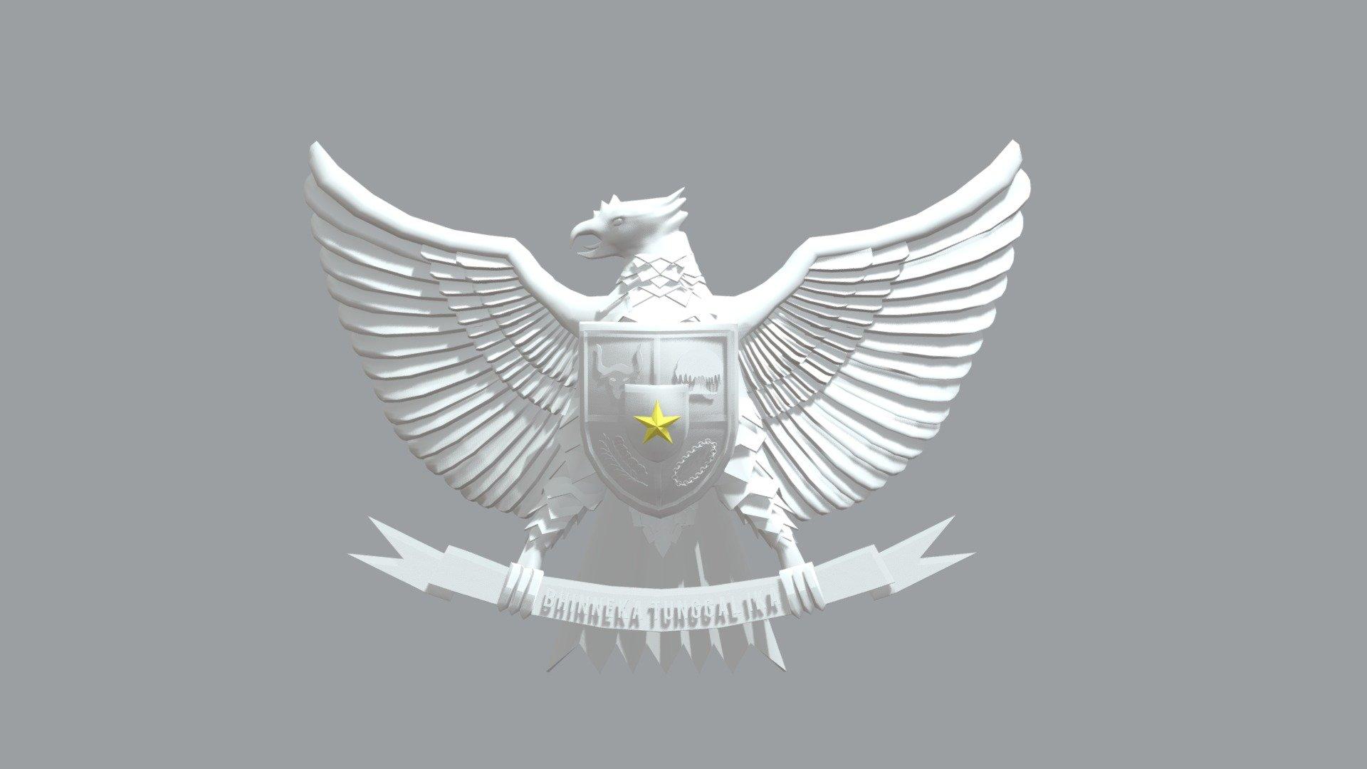 Garuda Pancasila 3d Model By Rynawawi Rynawawi Adda0ea