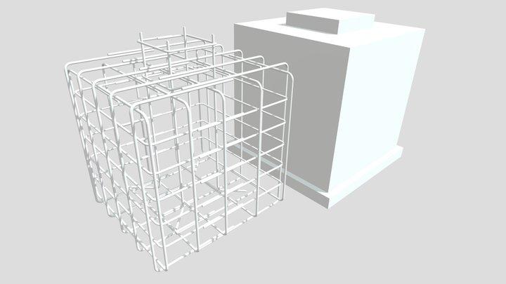 foundation assembly RCC 3D Model