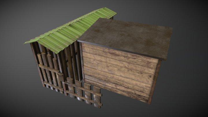 Houseboat entry 3D Model