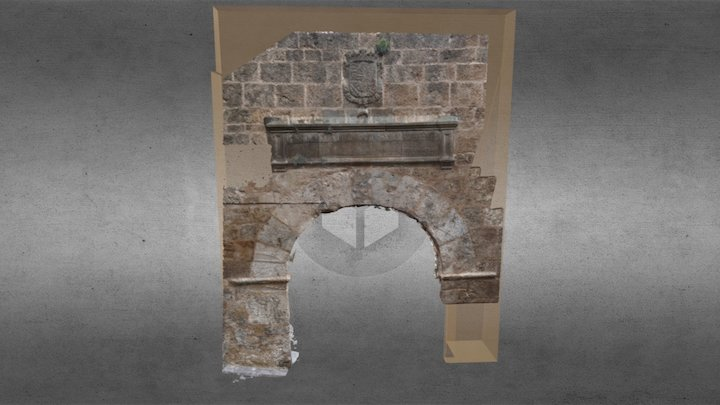 Puerta de Felipe II 3D Model