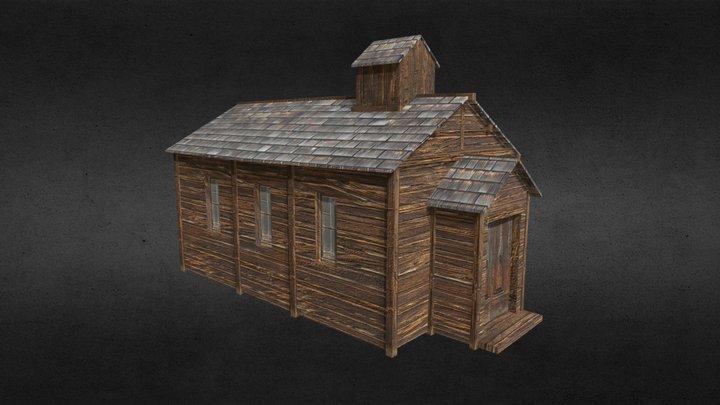 Western church 3D Model