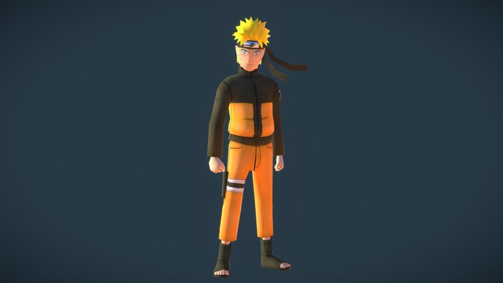 Naruto 3D 3D Model