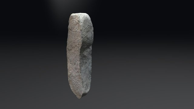 Dandaleith Pictish Stone 3D Model
