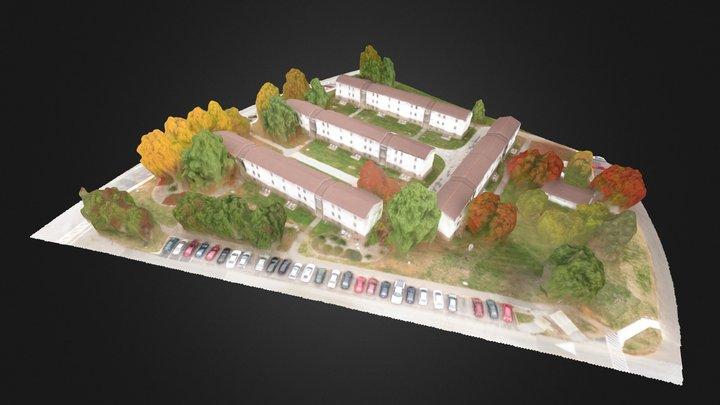 UMBC West Hill Apartments 3D Model