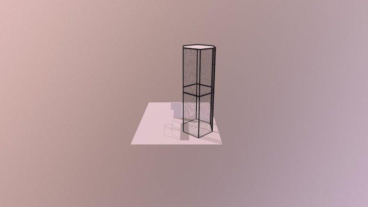 7.5 x 20 drone cage 3D Model
