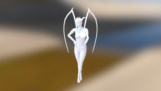 Succubus (Blender Sculpt) 3D Model